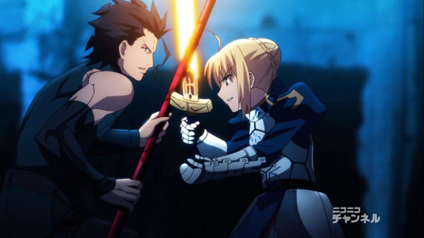 Fate Zero Lancer Saber