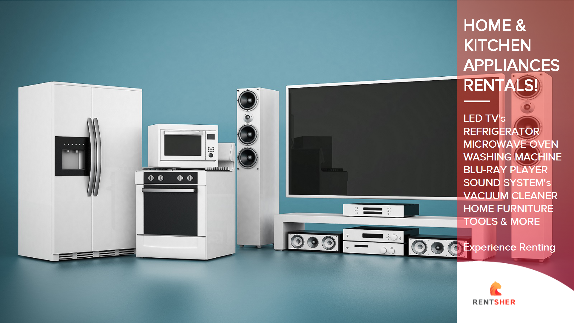 RentSher introduces wide range of Home & Kitchen Appliances on Rent ...