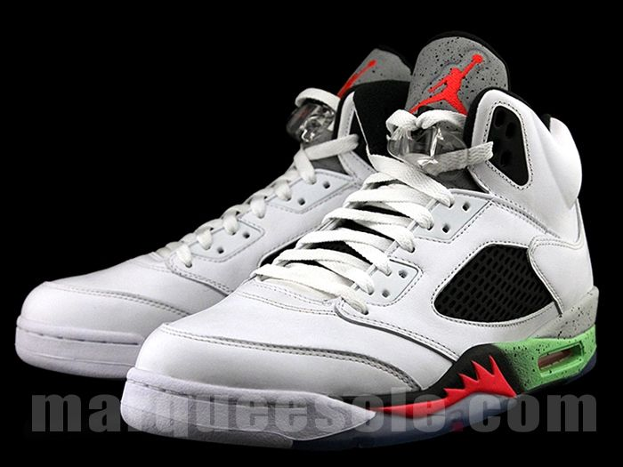 1f966e56b509 Outlet Nike Air Jordan 5 Retro Suede 3Lab5 Black Infrared 23 ...