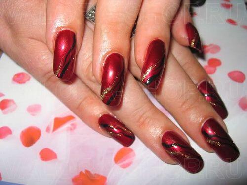Latest Acrylic Red Nail Designs - Latest Acrylic Red Nail Designs Acrylic Nails Pinterest Red