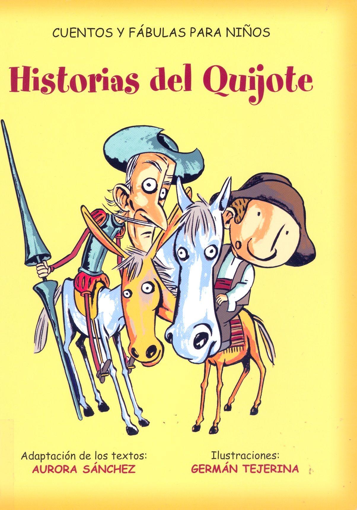 Historias Del Quijote Cuentos Y F Bulas Para Ni Os Adapt A  # Muebles Tejerina