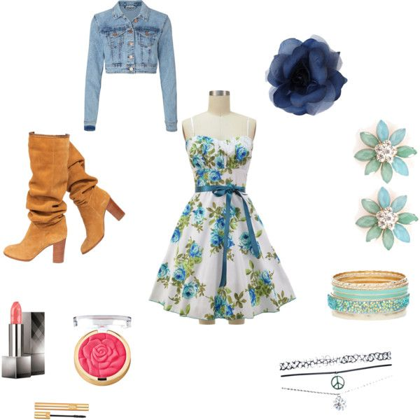 Summer day out by jenn5 on Polyvore featuring Vero Moda, Chanel, Wet Seal, Burberry and Yves Saint Laurent