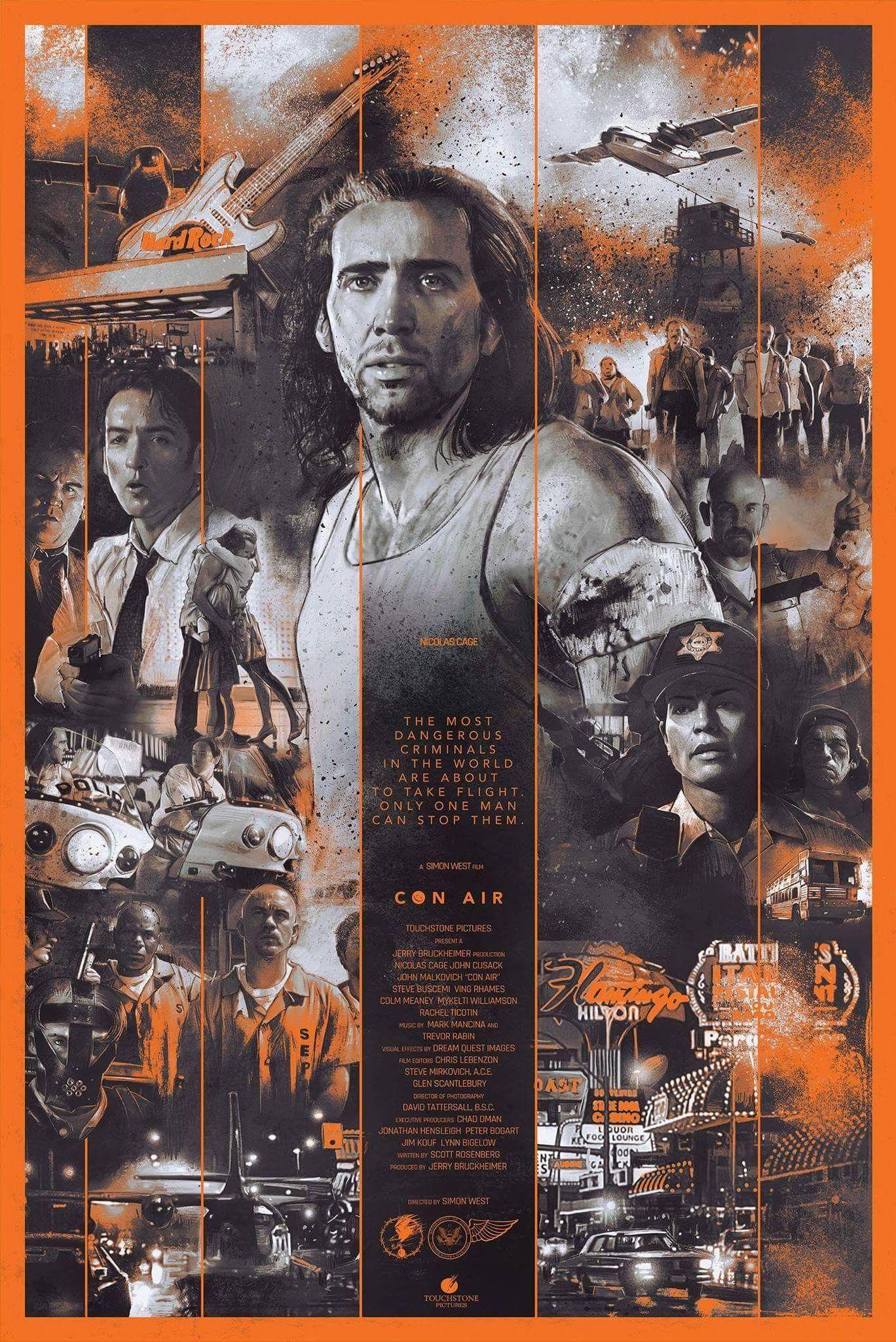 Con Air By Vlad Rodriguez Alternative Movie Posters Movie
