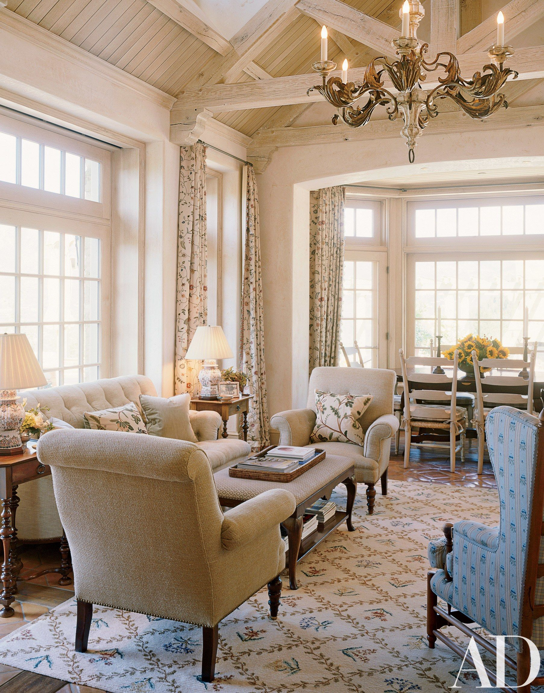 David Easton Creates a French Country Inspired Retreat ...