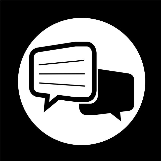 Talking Bubble Chat Icon Chat Icons Bubble Icons Icon Png And Vector With Transparent Background For Free Download