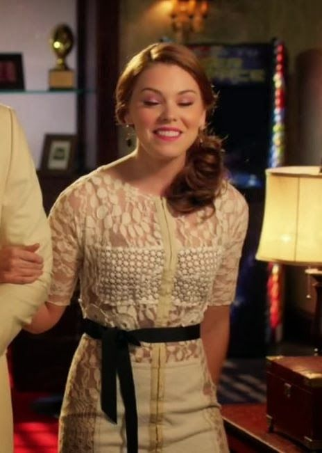 """Annabeth's Anthropologie Carissima Sheath """"Hart of Dixie"""" Season 3, Episode 6 """"Family Tradition"""" - Spotted on TV"""