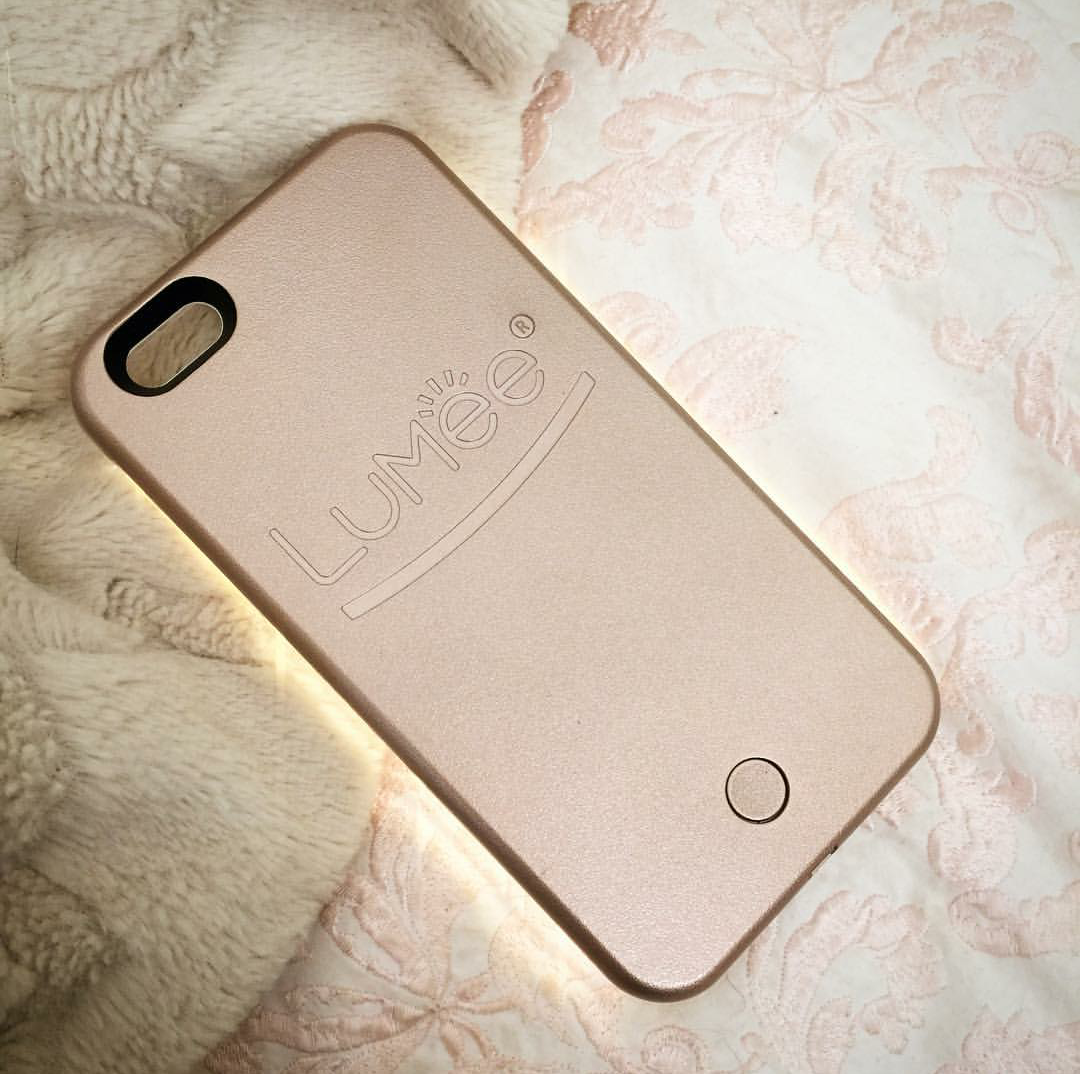 competitive price 5b09c dba5a LuMee case in rose gold. Photo credit: carlacassandra, Instagram ...