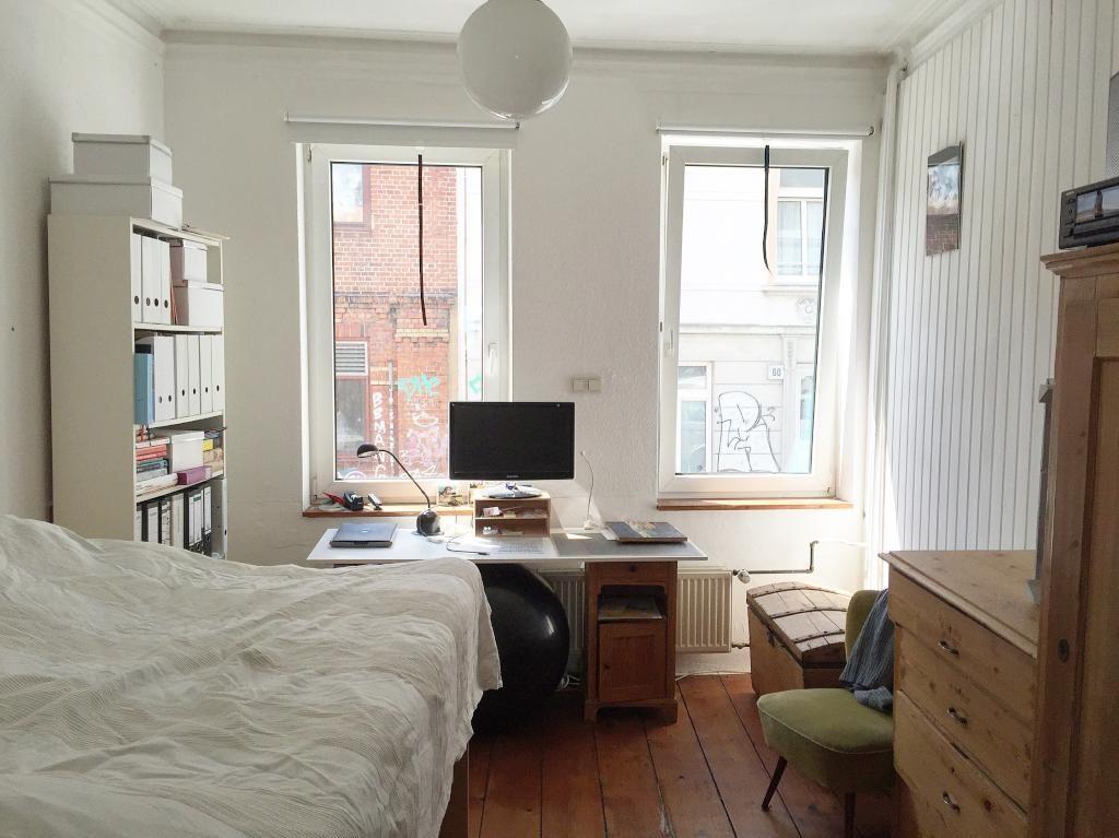 sch ne 1 zimmer wohnung in hamburg ottensen mit. Black Bedroom Furniture Sets. Home Design Ideas