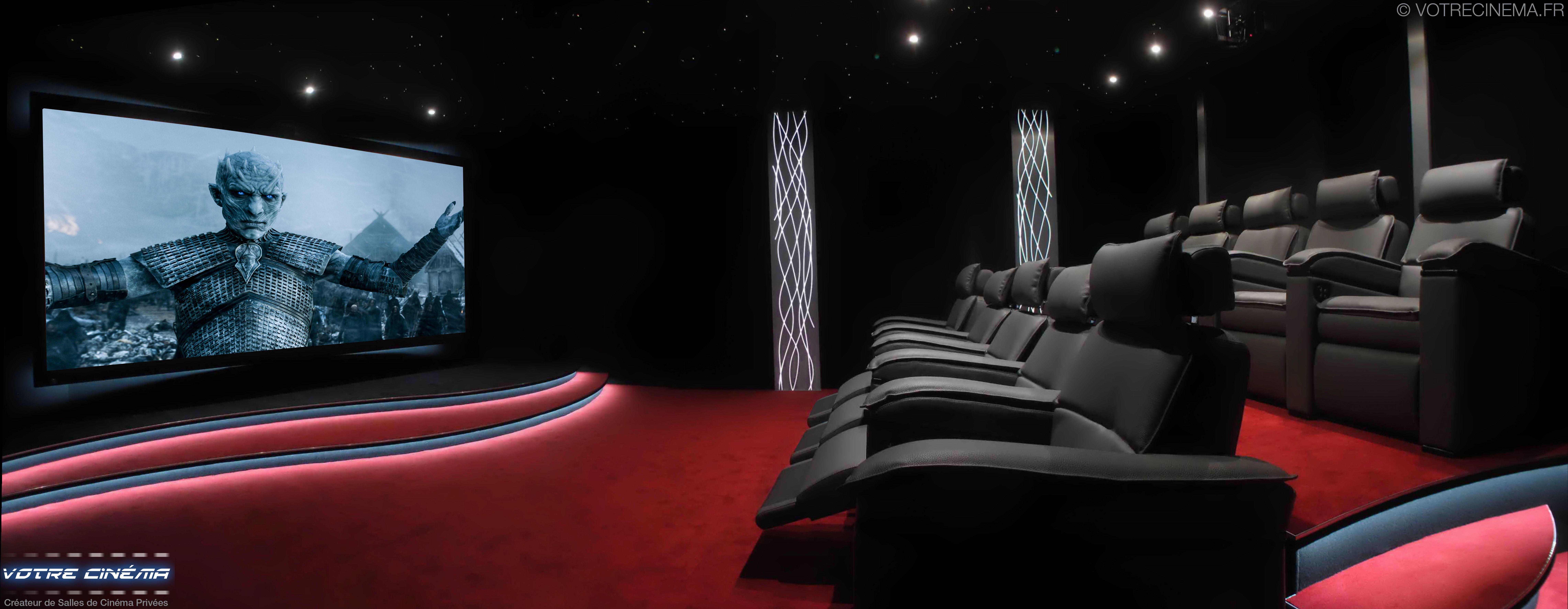Salle home cinema privée en Corse : 40 m2 par Votre Cinema ...