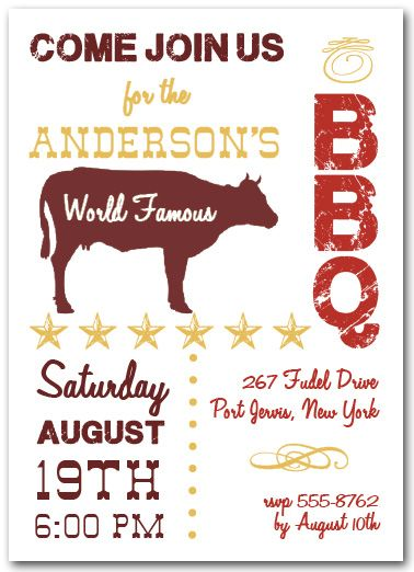 world famous beef bbq party ideas pinterest party invitations