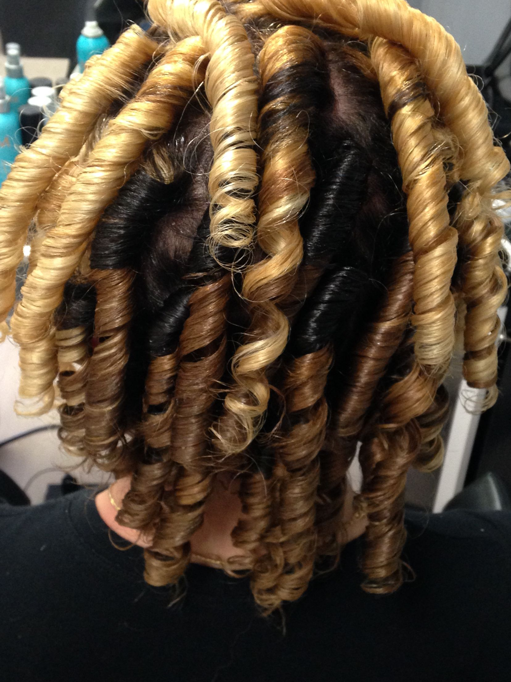 Flexie rods curling hair to present day pinterest hair style