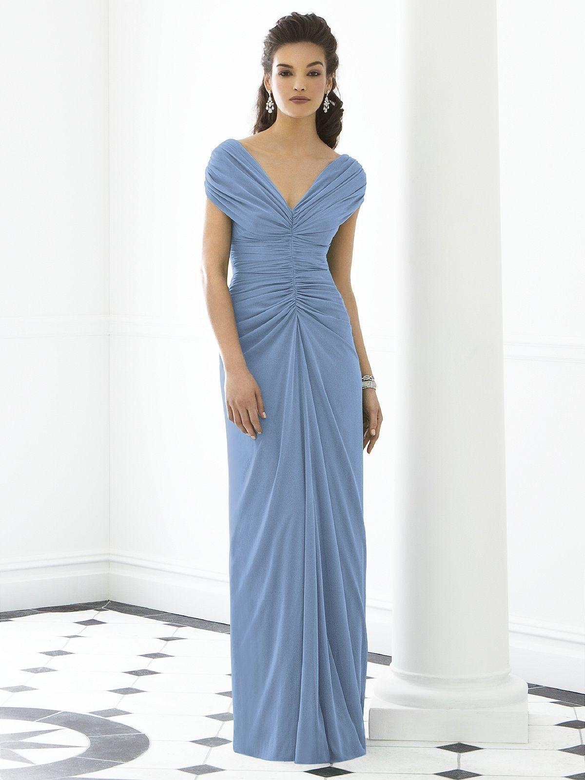 Windsor Blue Chiffon dress. | Caygill\'s Summer | Pinterest | Blue ...