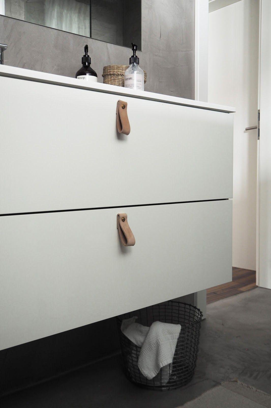 DIY | Leder-Riemen trifft Ikea-Schrank | A Pinch of Style | DIY <3 ...