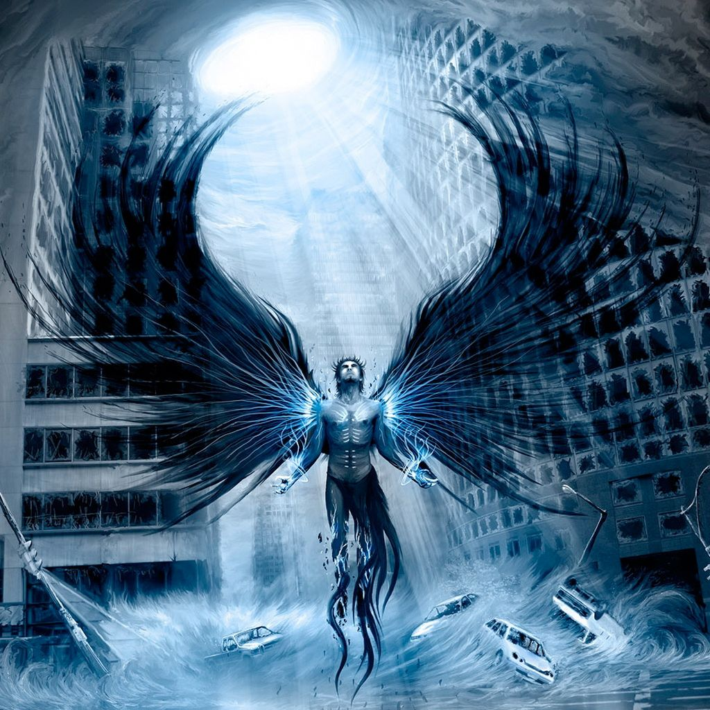 Arch Angel Ipad Wallpapers Ilustracao Conceitual Anjo Tattoo Anjos