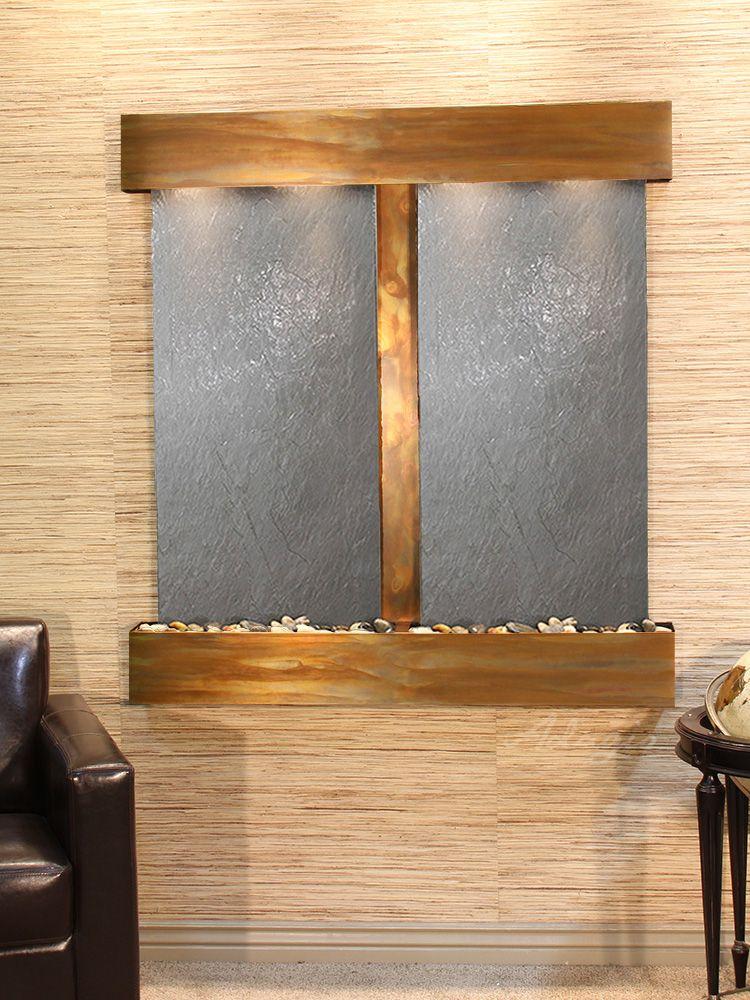 Fountain Kenroy Curvature Indoor Outdoor Floor Water Fountain