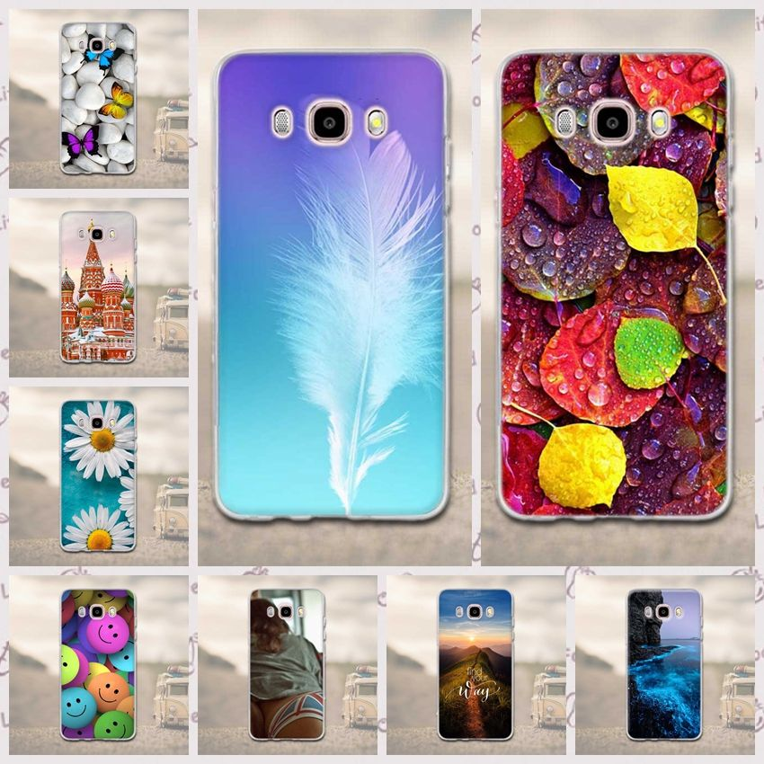 Case for Funda Samsung Galaxy J5 2016 Phone Cases 3D Soft ...