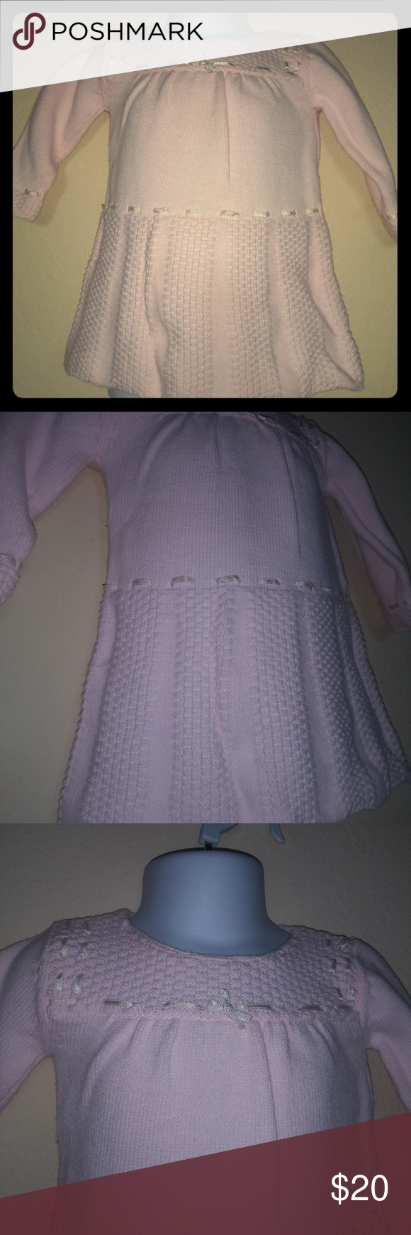 dbb64a6c9a53 Piper and Posie 3 6 mos pink sweater dress in 2018