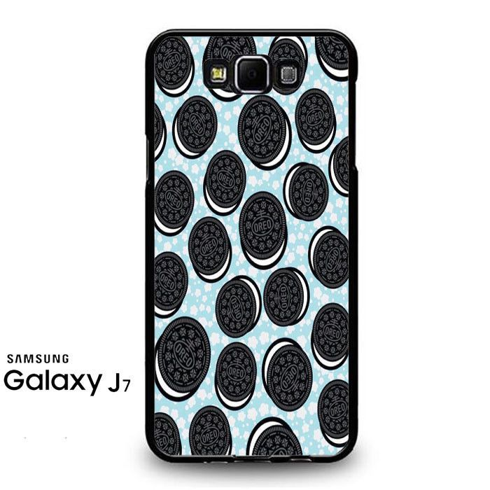 Oreo Wallpaper Food Cookies Samsung Galaxy J7 Prime Case   Products