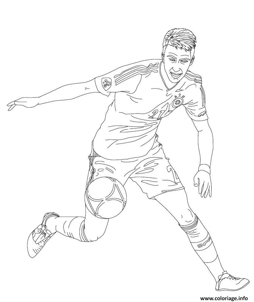 15 Ideal Coloriage Foot A Imprimer Stock Coloriage Foot Coloriage Joueur De Foot Coloriage Football