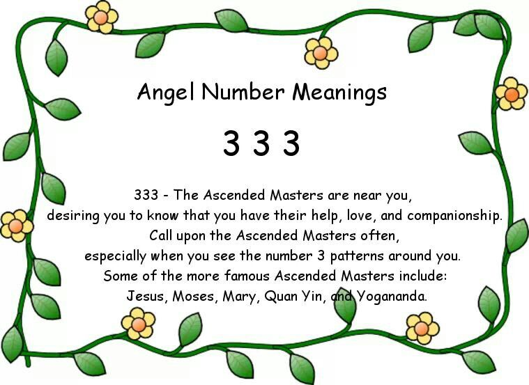 U00c1ngel Number Meaning 3