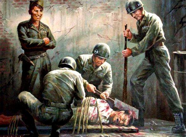 Anti-American propaganda from North Korea. Okay so this is legitimately terrifying