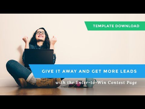 Download: Get the Free Enter-to-Win Contest Page Template ...