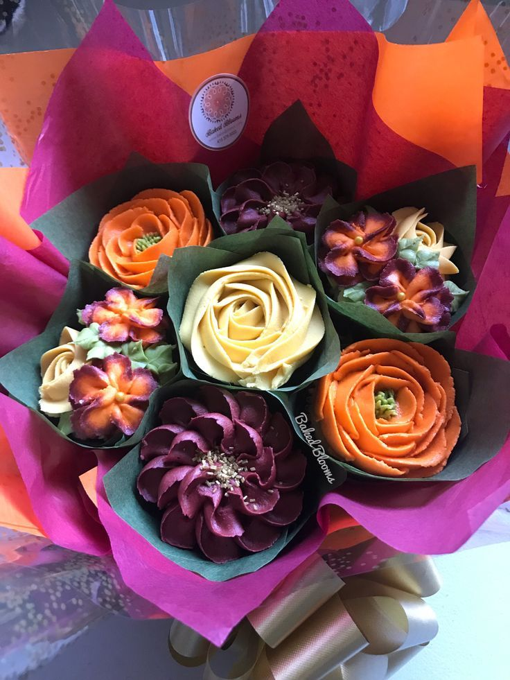 Gallery Floral cupcakes, Cupcake flower bouquets