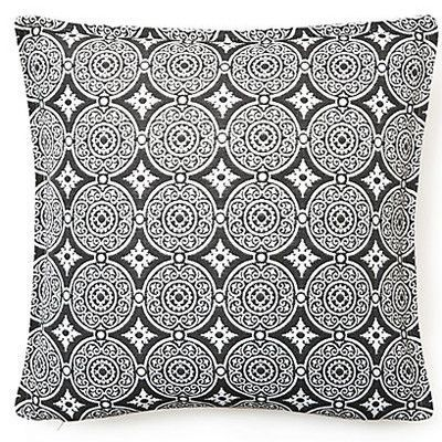 Corona Decor Outdoor Living Throw Pillow (Set of 2) Color: Steel