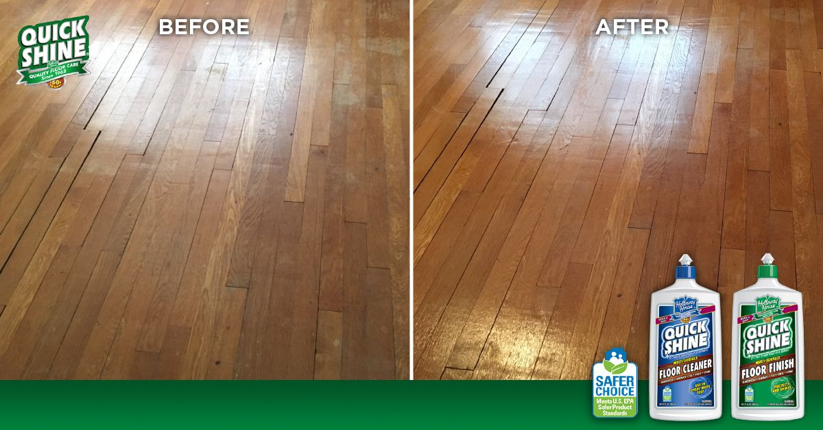 Anne From Indianapolis Used Quick Shine® Multi Surface Floor Cleaner And  Multi Surface