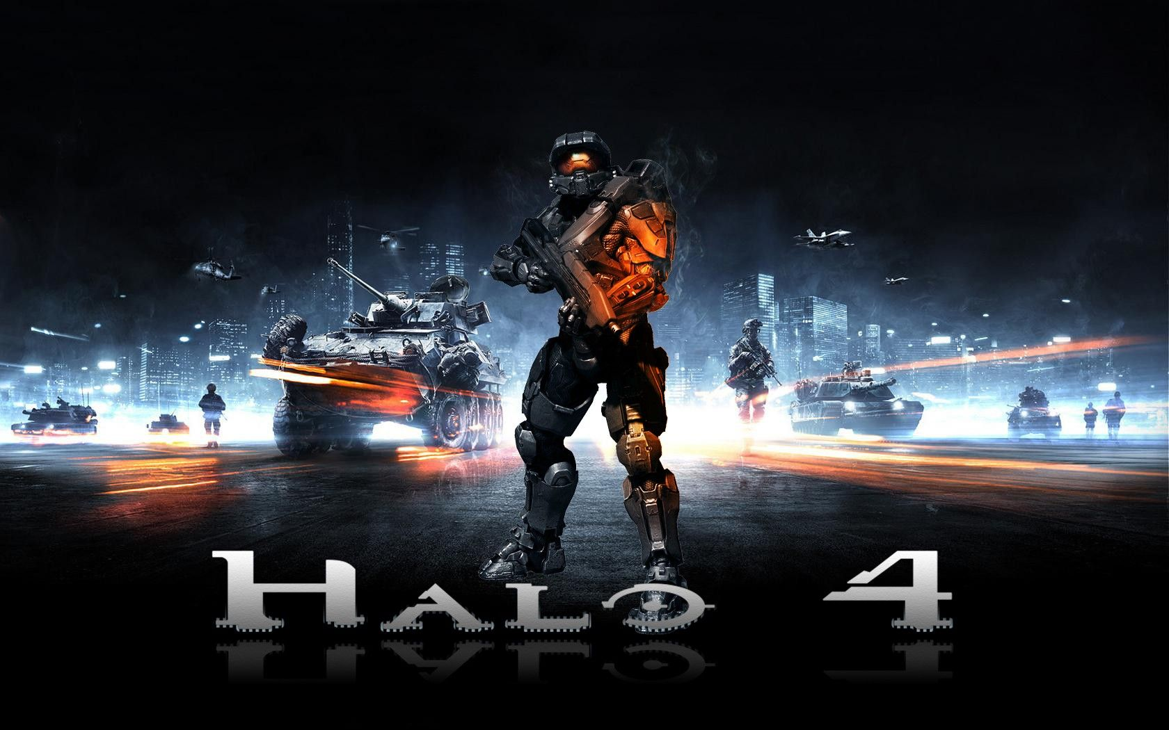 Halo 4 Video Games Cool HD Wallpapers