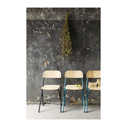 IKEA   VÄSSAD, Folding Chair, Dark Gray/ash Veneer , Foldable, Which Makes  It Easy To Store.No Assembly Required.Ash Veneer Is Stain Resistant And  Easy To ...