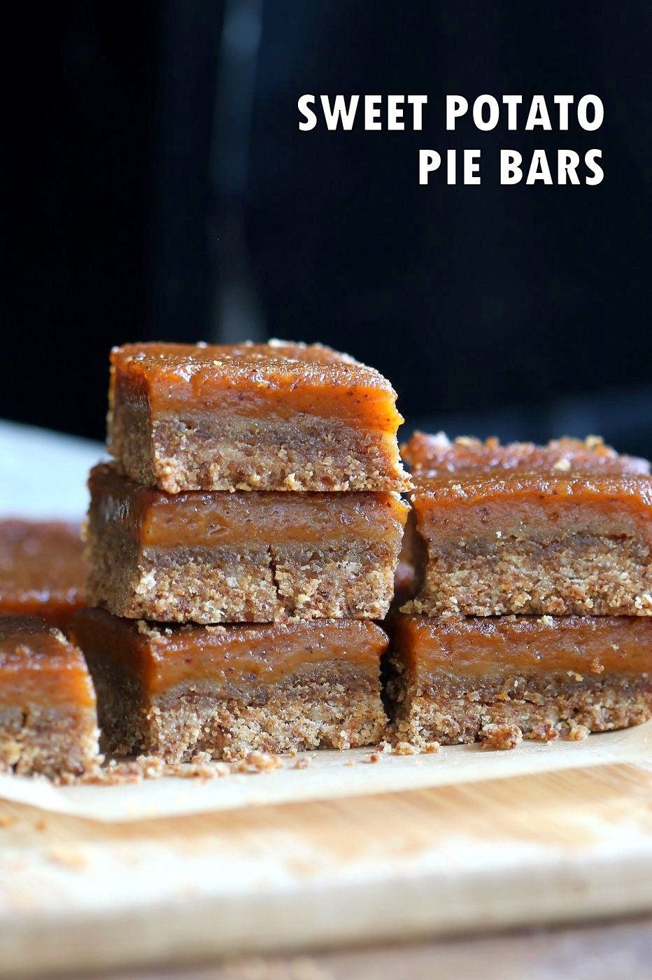 Vegan Sweet Potato Pie Bars - Vegan Richa