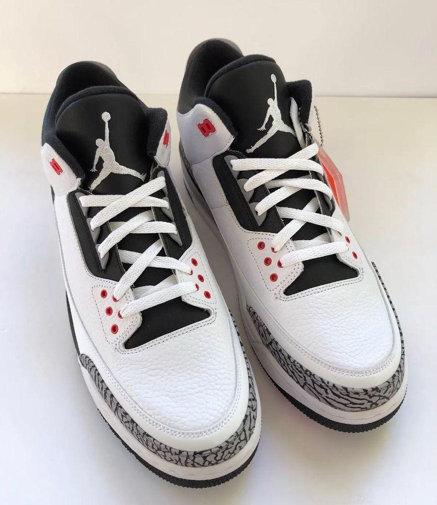 buy online d17b5 56495 Nike Air Jordan Retro 3 III Infrared 23 Mens Size 13 Style ...