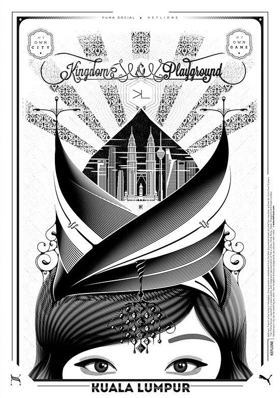 KEFLIONEKUALALUMPUR pumasocial malaysia Illustration