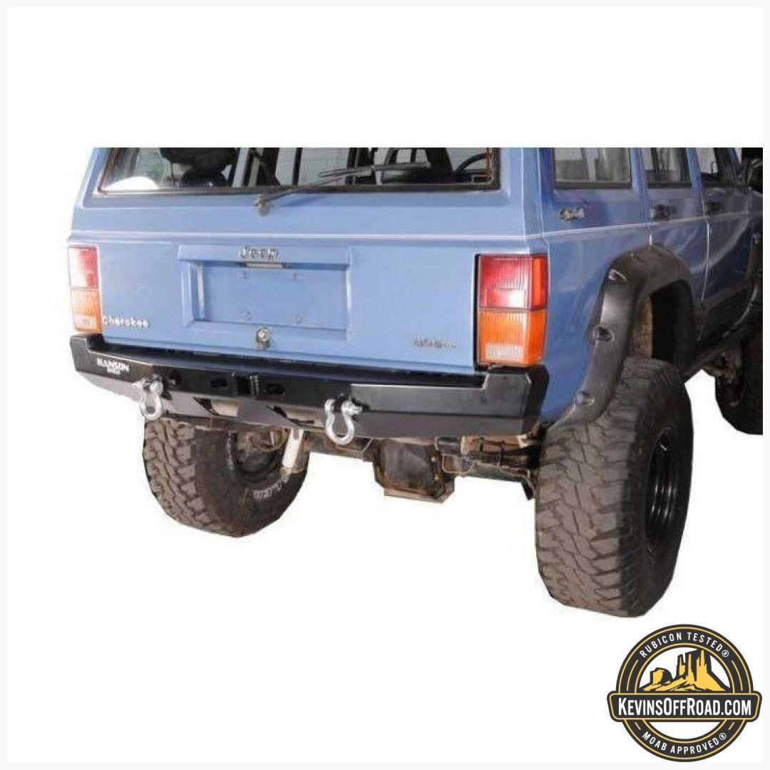 Hanson Xj Rear Basic Bumper Xj Jeepxjcustom Overlandjeepgear