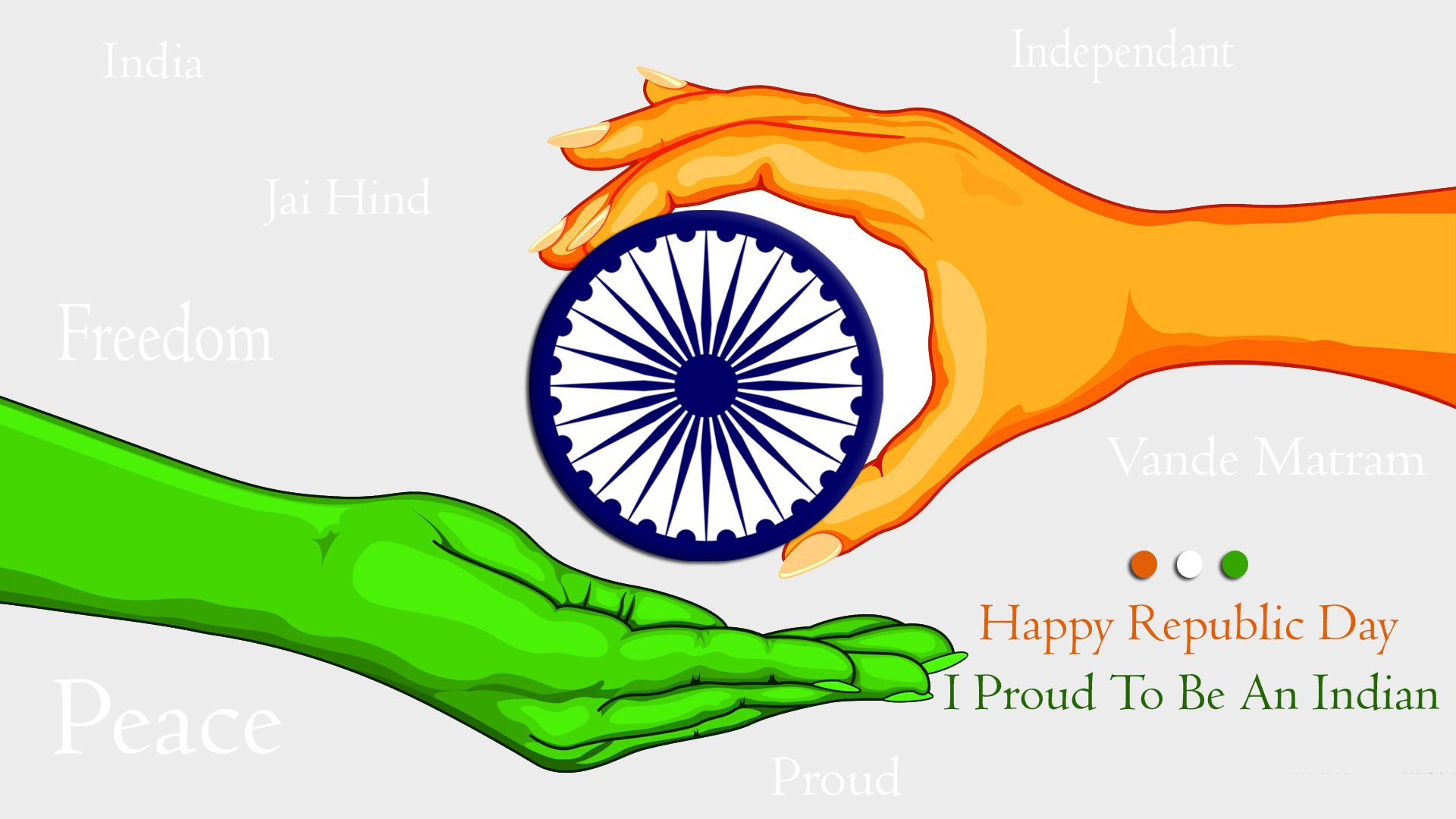 Proud To Be An India Hd Wallpaper Happy Republic Day26 Januaryhd