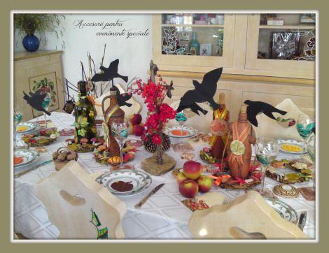 Masa festiva de toamna