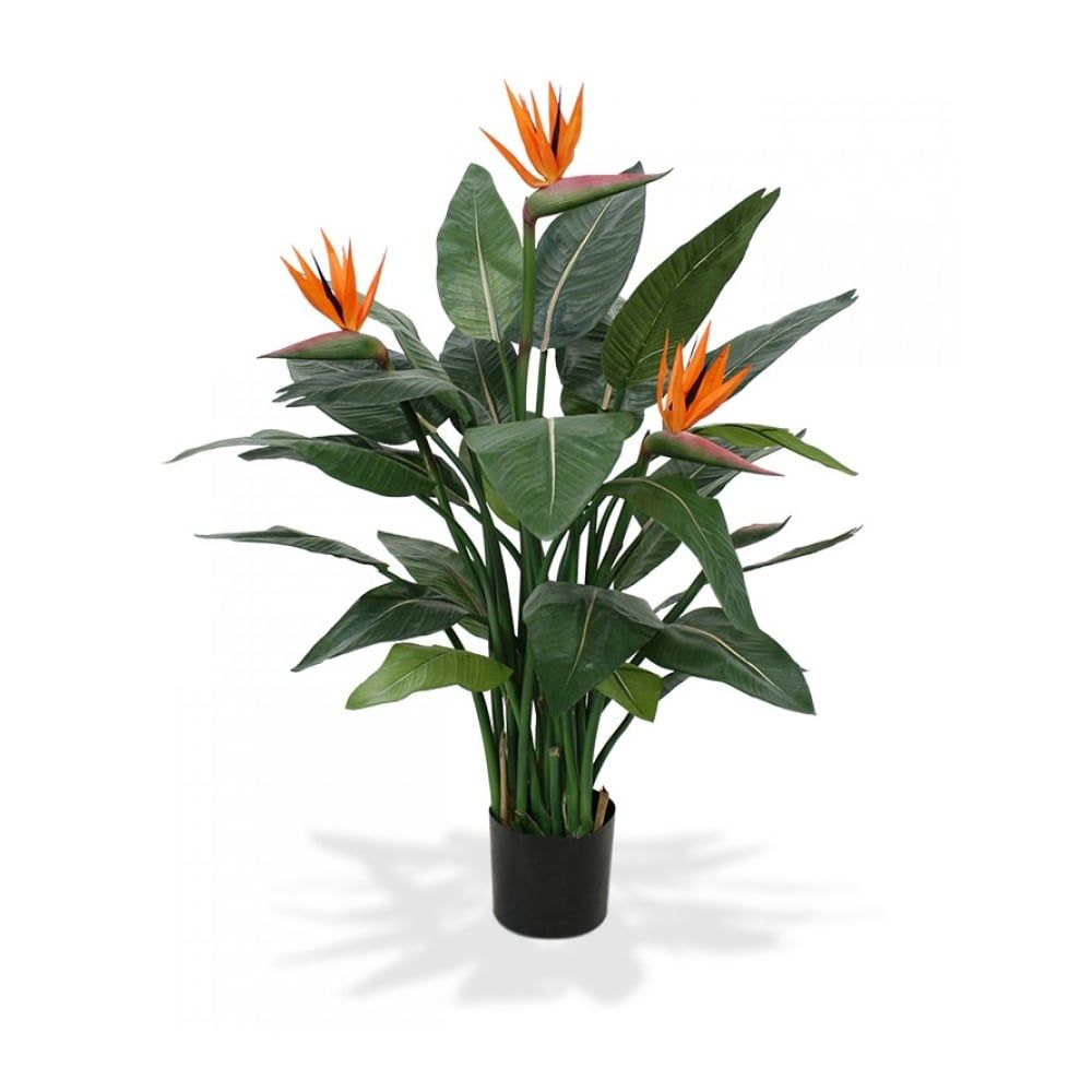 Artificial Bird Of Paradise Or Strelitzia Plant Artificial Plant Arrangements Artificial Plants Artificial Plant Wall