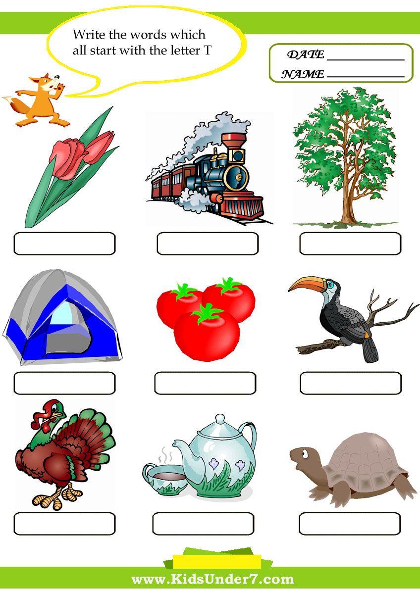 letter t words Google Search ARC Education Pinterest