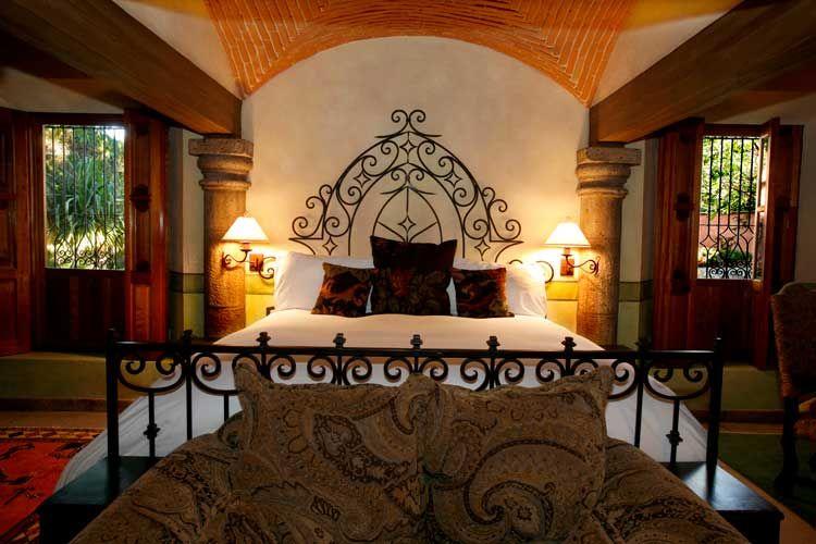 Mexican hacienda bedroom dream home ideas pinterest for Hacienda design ideas