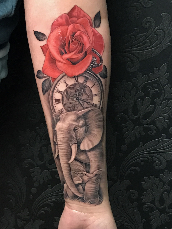 Elephant Tattoo Ideas: Unique Tattoos For Women, Trendy Tattoos
