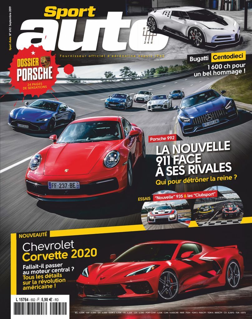 Sport Auto France Back Issue No 692 Digital Sports Digital Auto