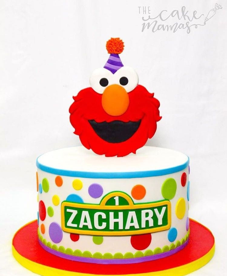 Elmo 1st Birthday Cake Ideas Call Or Email To Book Your