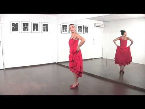 4 Curso Aprende A Bailar Sevillanas Con Pilar Astola Introducción Y 1º Pasos Youtube Aprender A Bailar Danza Y Baile Baile