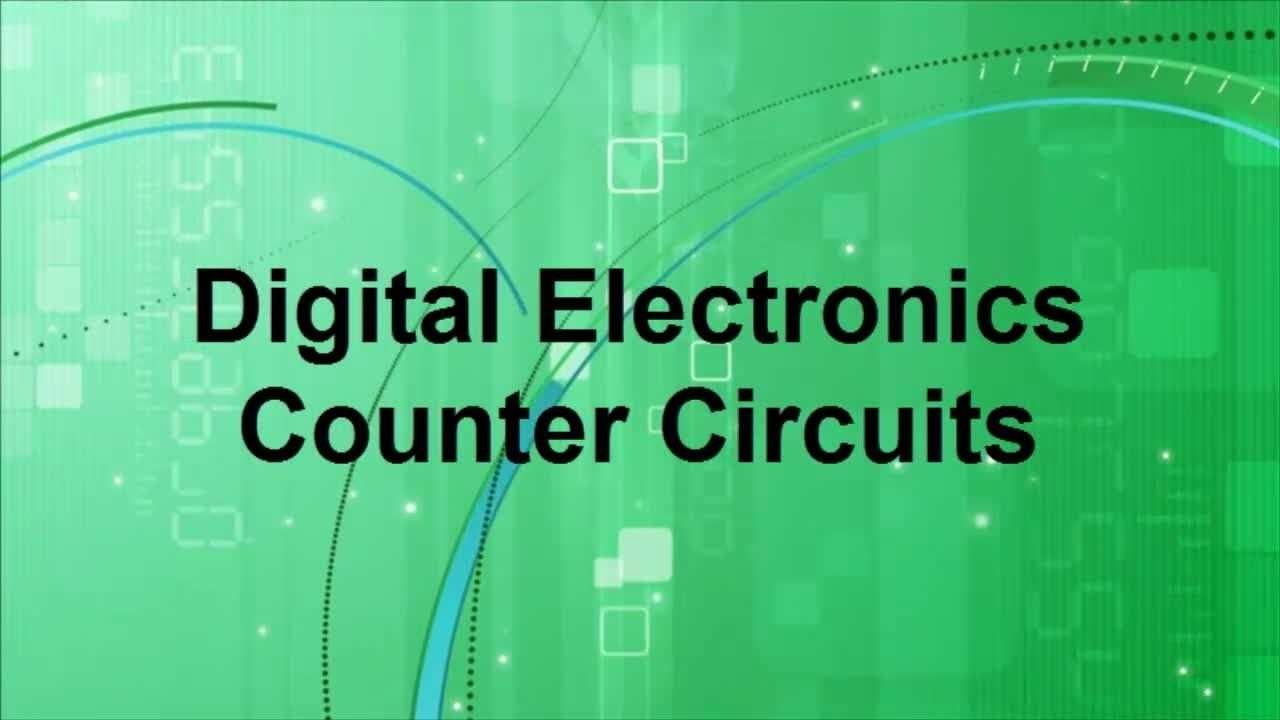 Digital Electronics Counter Circuits Engineering Pinterest Falstadbestonlinecircuitsimulator