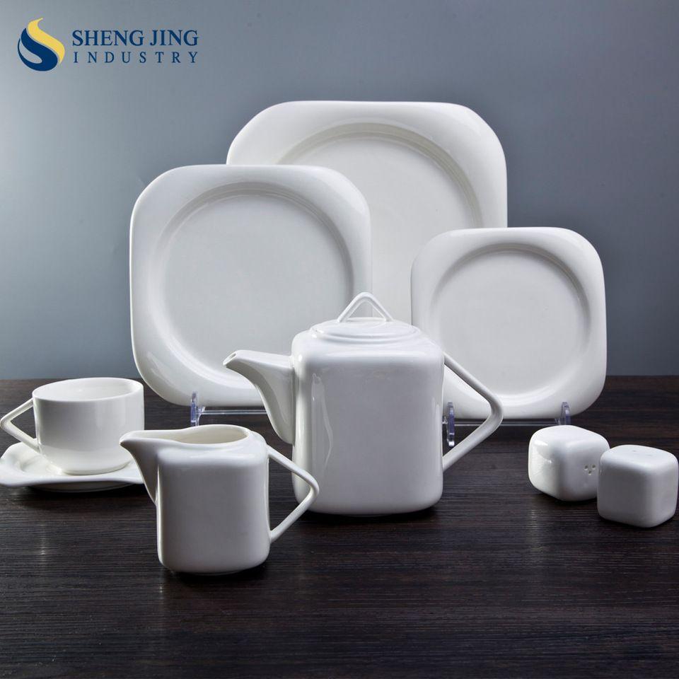 Affordable Price Hotel Restaurant Crockery Tableware Dinner Plate Sets