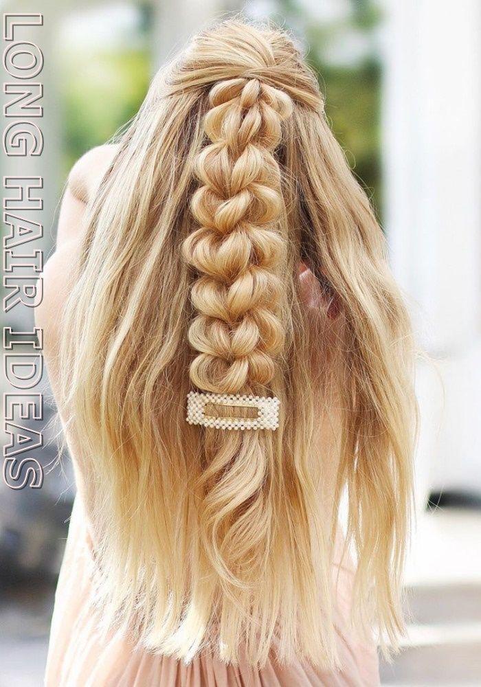 easy long hairstyles Long Hair Ideas For 2020 Best Hair Styles Women Ideas