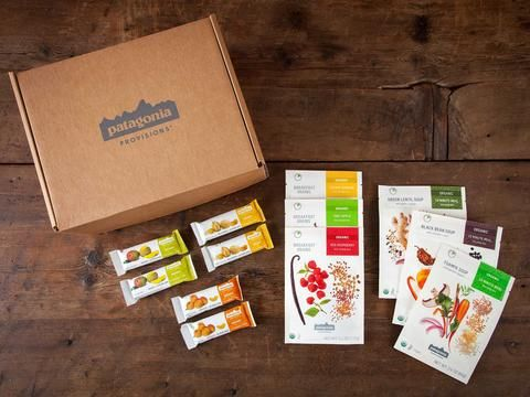 Patagonia Provisions Vegetarian Sampler with Soup, Breakfast and Bars