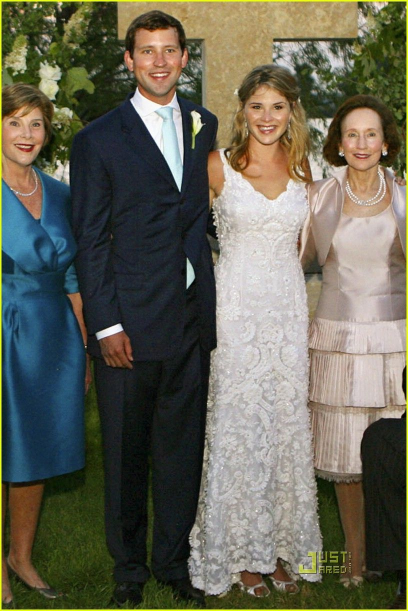 There Was A Real Possibility That The Jenna Bush And Henry Hager Wedding Could Have Been Rain Out Night Before Thunder Lighting Led Across