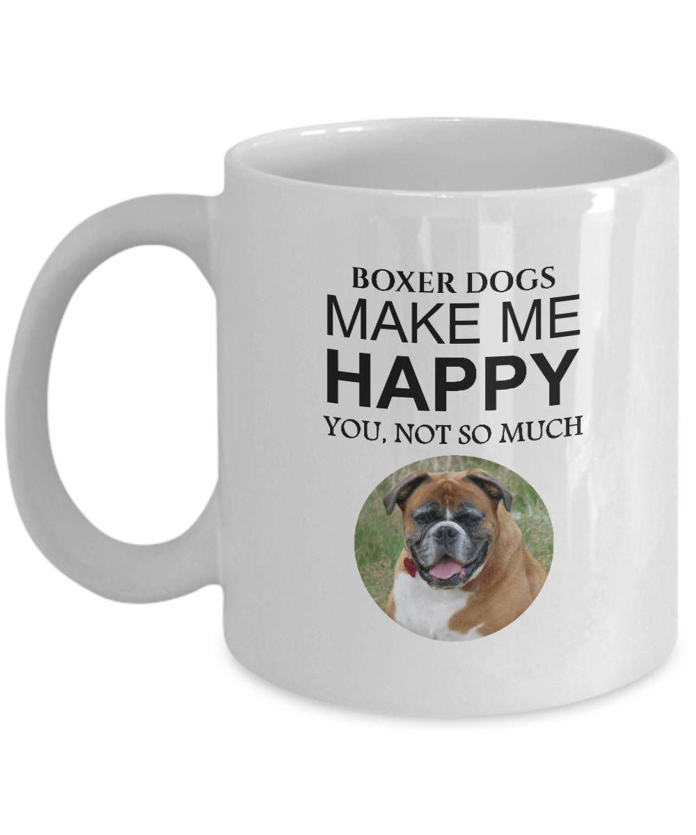 Excited To Share The Latest Addition My Etsy Boxer Dog Coffee Mug